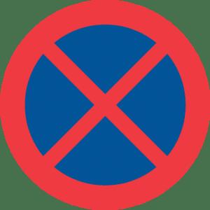 17041 Forbud mot att stanna och parkera fordon